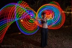 LED hoop drop