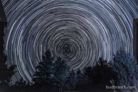 circumpolar star motion